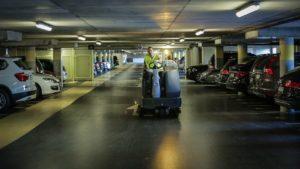 Nettoyage des Parkings